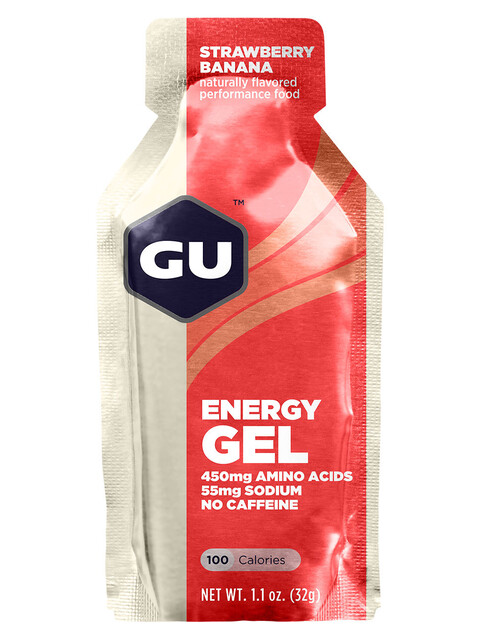 GU Energy Gel Strawberry Banana
